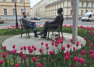 Slovakia - Having a chat