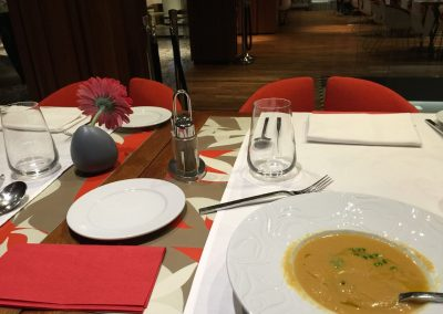 Slovakia - Hotel Yasmin Dinner