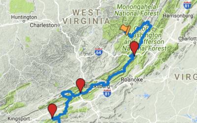 Trans America Trail 04 – Virginia to North Carolina